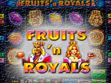 Скачать автомат Fruits And Royals без регистрации