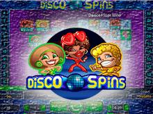 Игровые автоматы онлайн Disco Spins