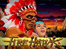 Игровой автомат на деньги Огненный Ястреб