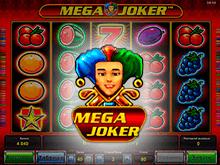 Игровой автомат на деньги Мега Джокер